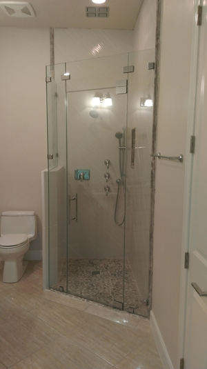 Shower Doors — Coral Glass & Mirror Concepts