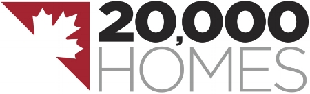 Visit the 20,000 homes website