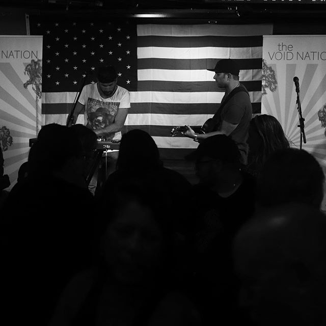 MONDAY #blackandwhite #america #music #band #arizona #monday #stage #blackandwhitephoto #picoftheday #nofilter #gramoftheday #thevoidnation #daydreamertour 📸cred: @justinmayotte