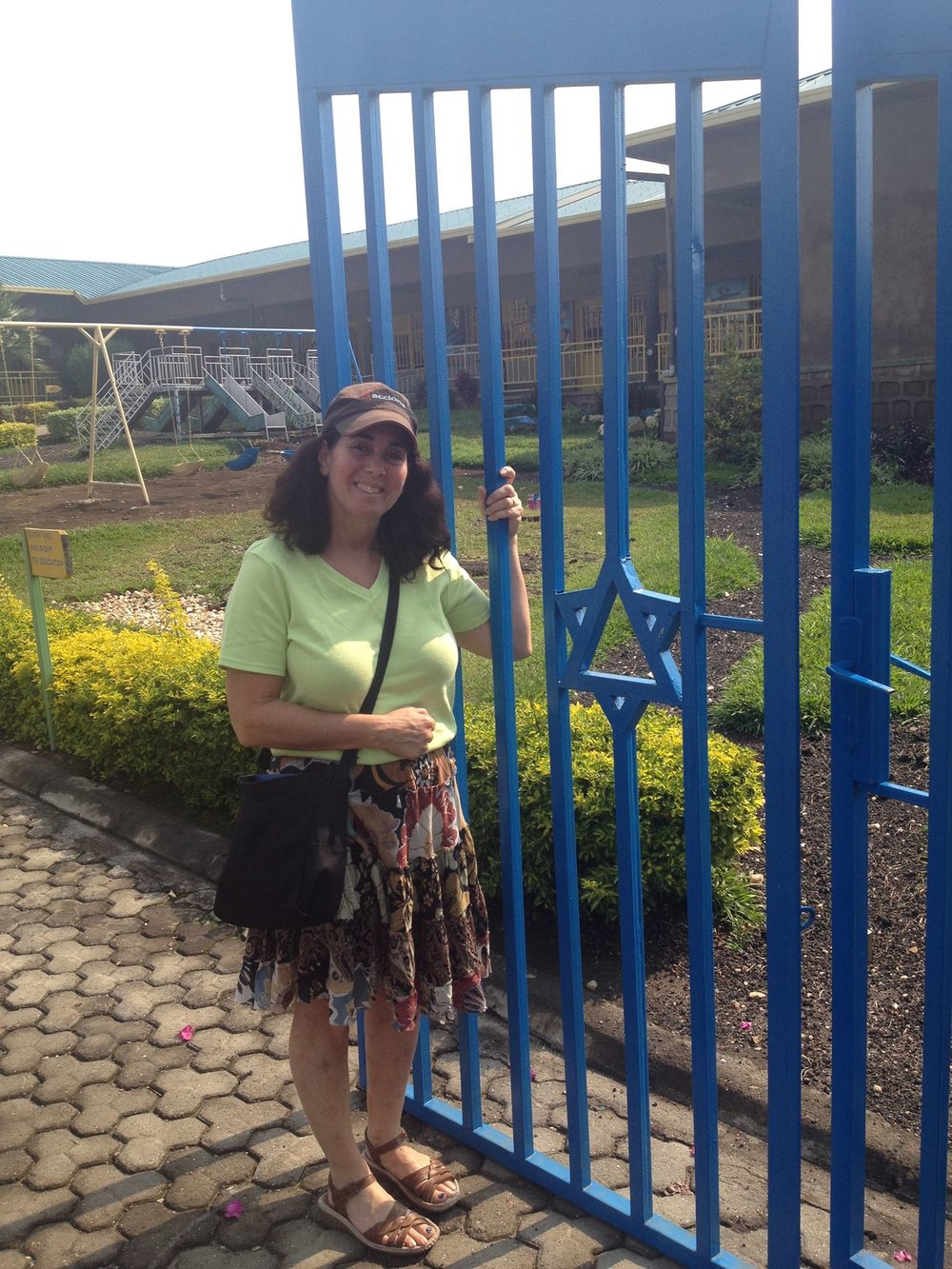 Love the Star of David in the gate (and the same name as Congregation B'nai Brith).