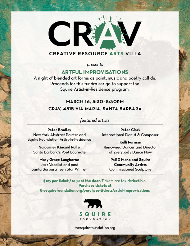 CRAV Artful Improvisations Invitation