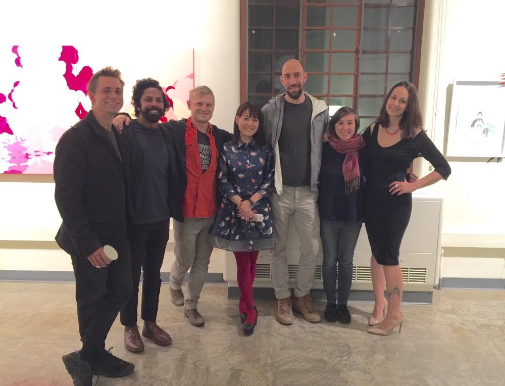 2017 UCSB MFA students
