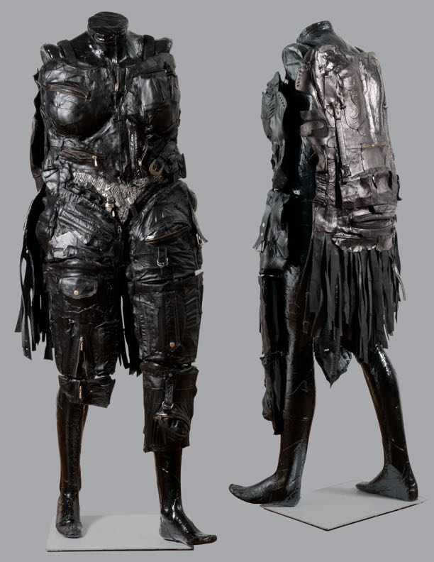 Linda Stein Sculpture - Body Armor for 21st-Century Amazons