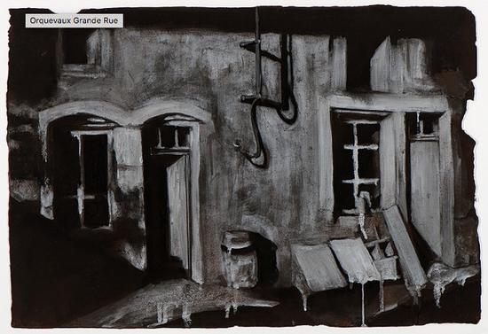 Orquevaux Grande Rue - Tom Pazderka, 2018