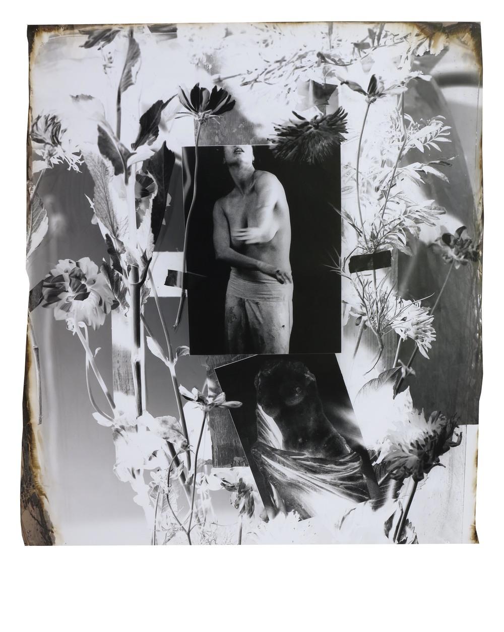 Rachel's Gesture of Refusal  1995  gelatin silver print  42 x 36 inches