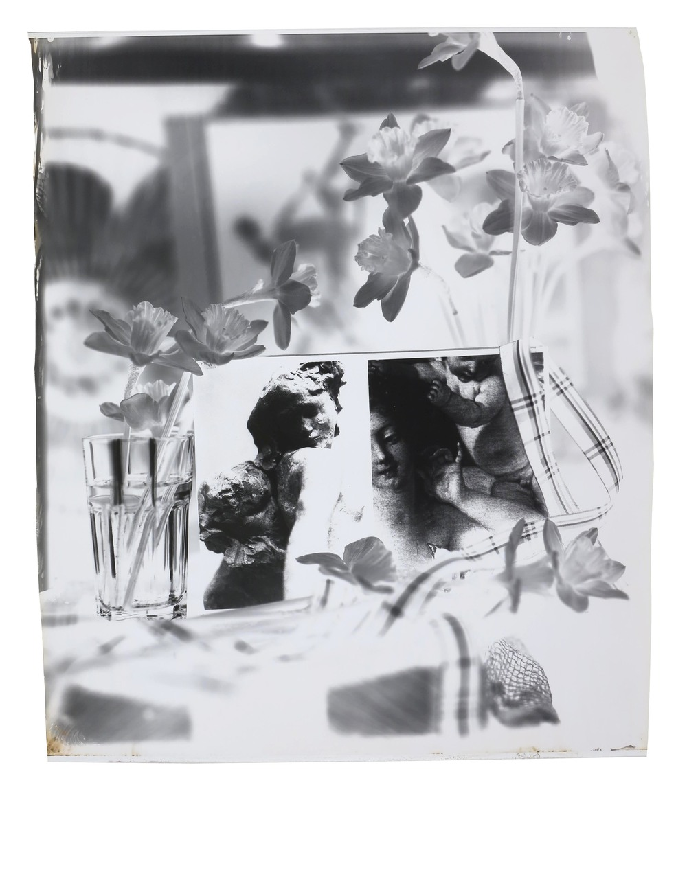 The Power of Memory  1994  gelatin silver print  41 x 35 inches