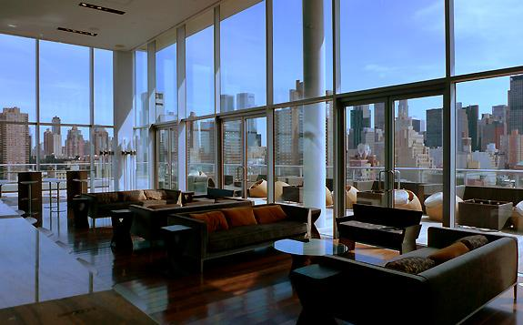 Ink 48 Hotel.  NYC