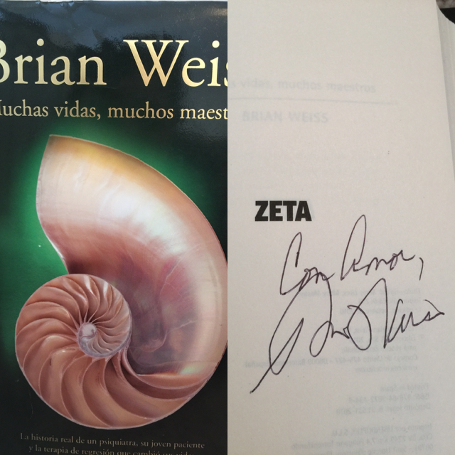 Signed copy. Spanish Version