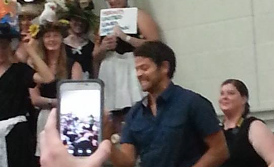Picture of Misha, taken in seattle, WA in  2014 by one of our group members.