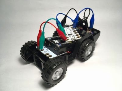 Kids learn how to hack a toy and make it into a robot!