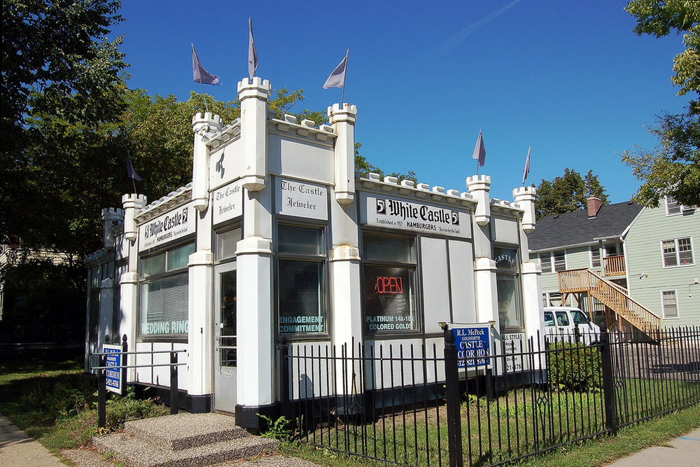 The original Castle Accordion location in the historic White Castle building