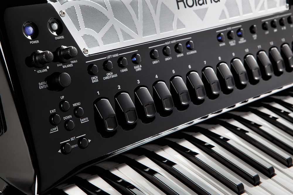 FR-8x, The latest in digital accordion technology