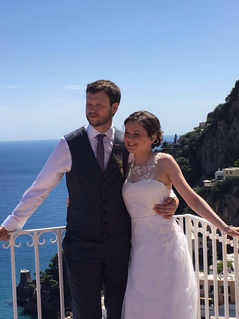 Real Wedding: Getting Married Abroad — Wold Couture