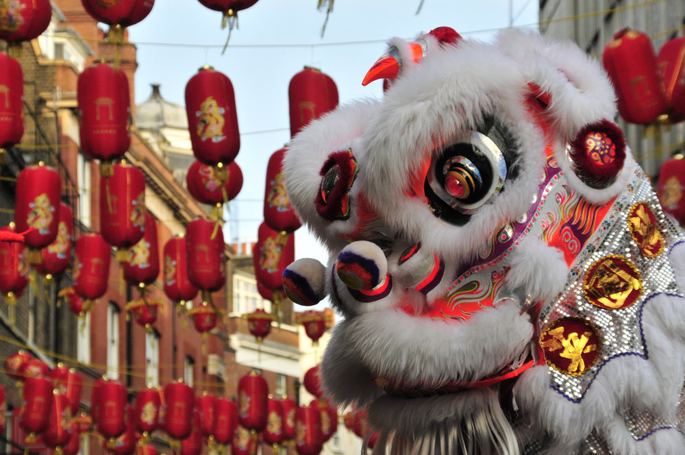 Join us Saturday January 28th @ 5pm to Celebrate the Chinese New Year with the Lion's Dance!    Lion dance  ( simplified Chinese : 舞狮;  traditional Chinese : 舞獅;  pinyin :  wǔshī ) is a form of traditional  dance  in  Chinese culture  and other Asian countries in which performers mimic a lion's movements in a lion costume. The lion dance is usually performed during the  Chinese New Year  and other Chinese traditional, cultural and religious festivals.