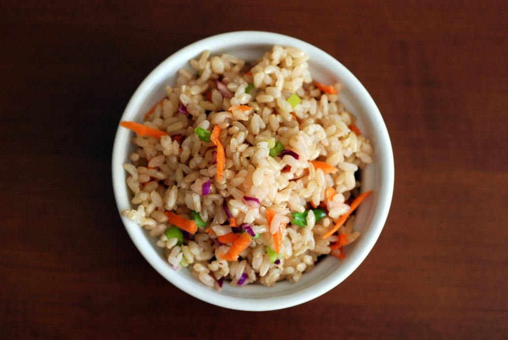 Umeboshi Rice photo by Janet Malowany
