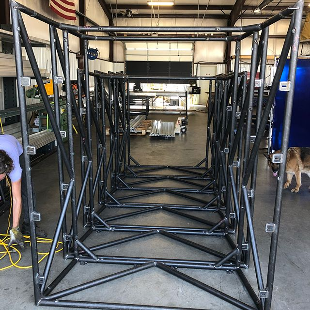 "A lot has happened in the last 6 months... here's some of the latest. I now work for a company called Go Fast Campers and we are doing some very exciting things. These 1.5"" DOM Tubing space frames support our GFC platform. An ultra light, ultra durable take on a truck camper. Check it out @gfc_usa to see more."