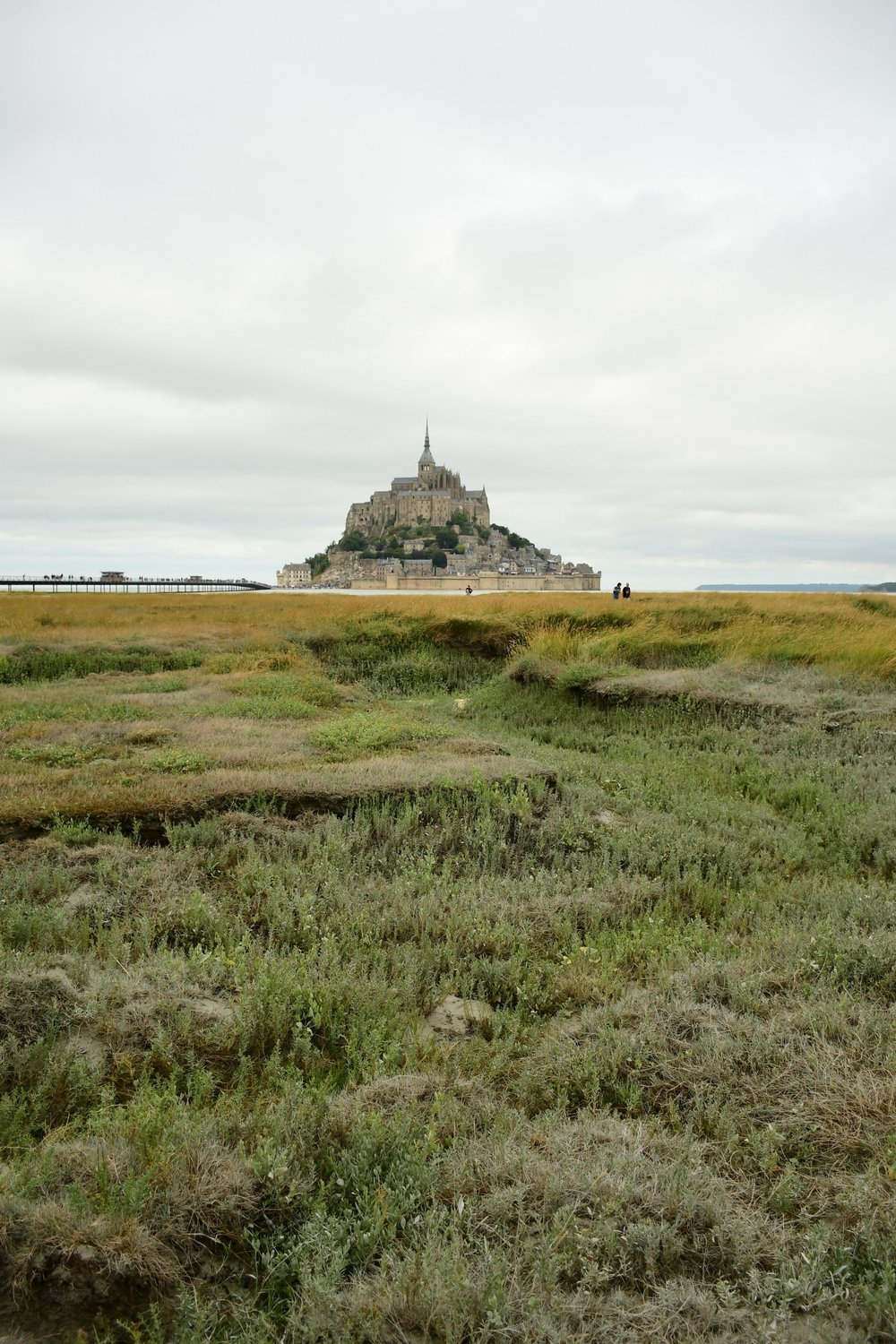 le mont saint michel, normandy