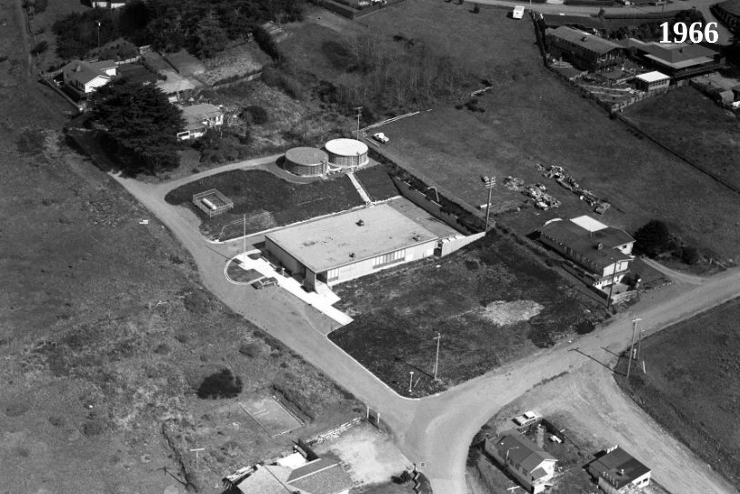 Another view in the late 1960s. Photo: HSU.