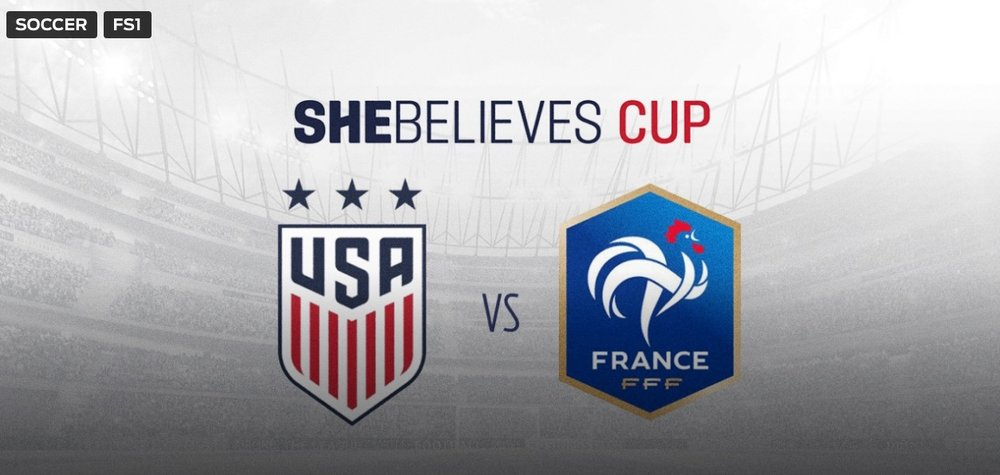C'mon now. You know what to do.The match is on FS1 at 7PM Eastern.