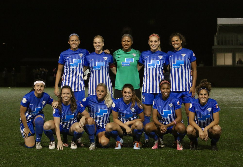 The Final Starting Lineup of the 2017 Boston Breakers. Who knew?