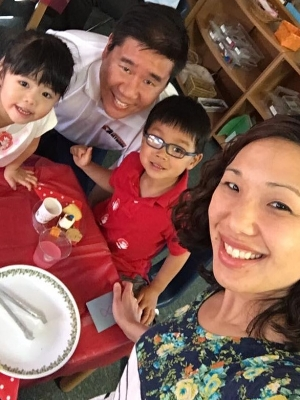 Jodi Chung is Youth Pastor, Wife to author and professor Michael Chung and Mom of their adopted children, Cole and Noelle.