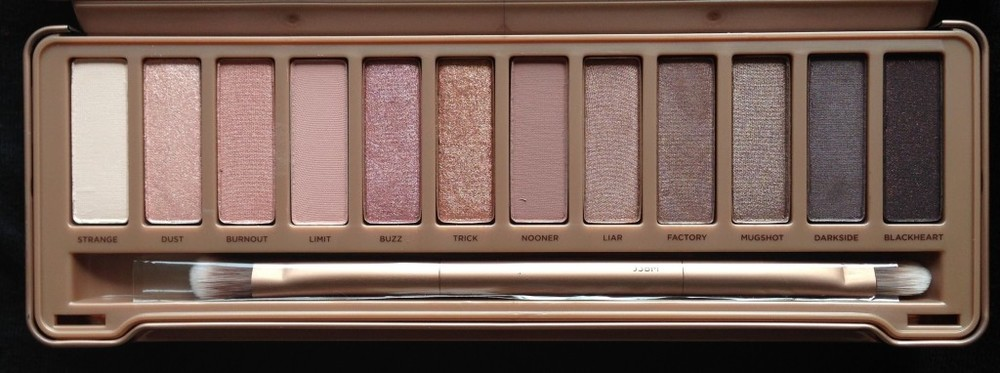 Naked Palette by Urban Decay ($54) - If you're going to invest in an eyeshadow palette, make sure it's from Urban Decay's Naked series. You get everything from rich matte colors to shimmering highlight and crease shades. Plus, it comes with a dual-ended brush for easy application.
