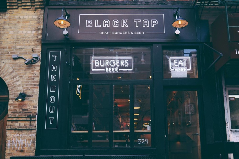 Black Tap Craft Burgers & Beer in Soho