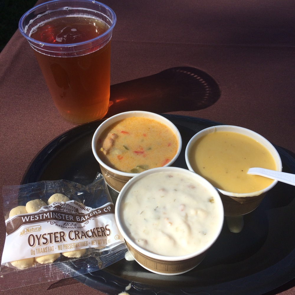 Mystic Seaport - Definitely check out the Mystic Seaport Chowder Days, normally held over Columbus Day weekend in October. Stroll through the beautiful grounds and enjoy your choice of chowders and delicious desserts like warm apple fritters.