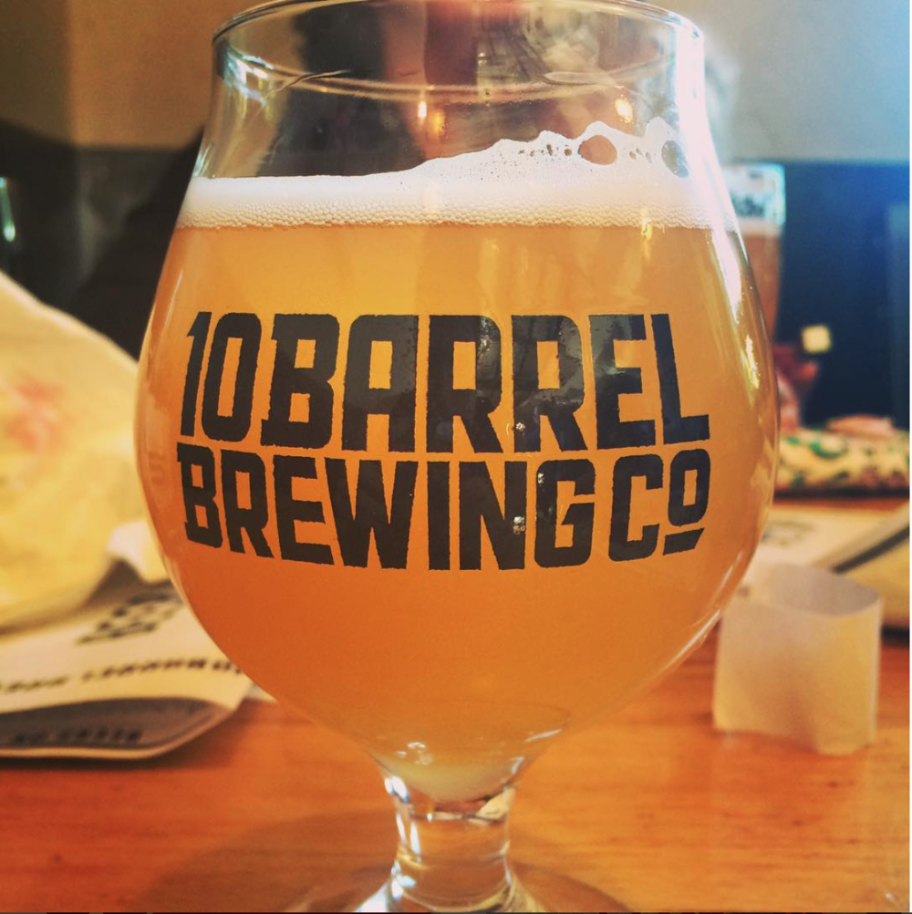 The Apricot Crush from 10 Barrel Brewing Co.