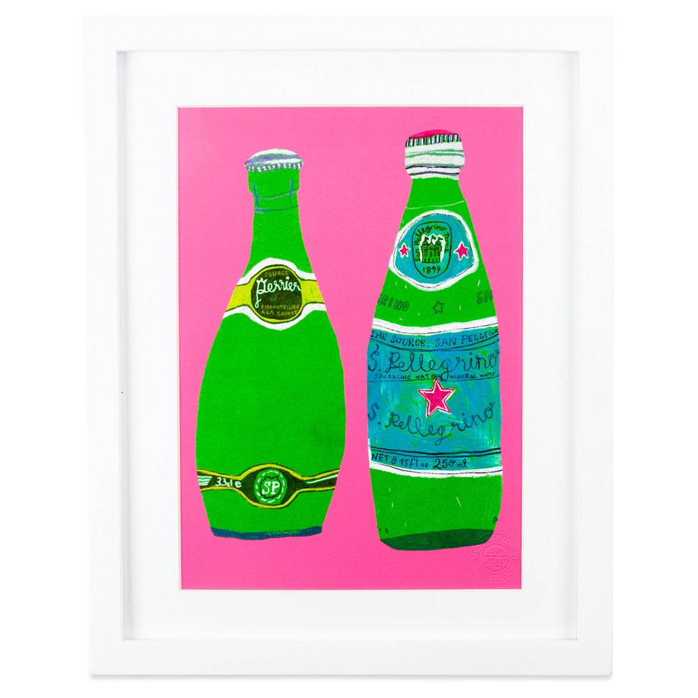 Art Prints - And when you're in the mood to add a bit of personality to a room, check out their fun collection of framed artwork. From stills of Perrier to limited edition animal prints,  it won't be hard to choose a favorite.