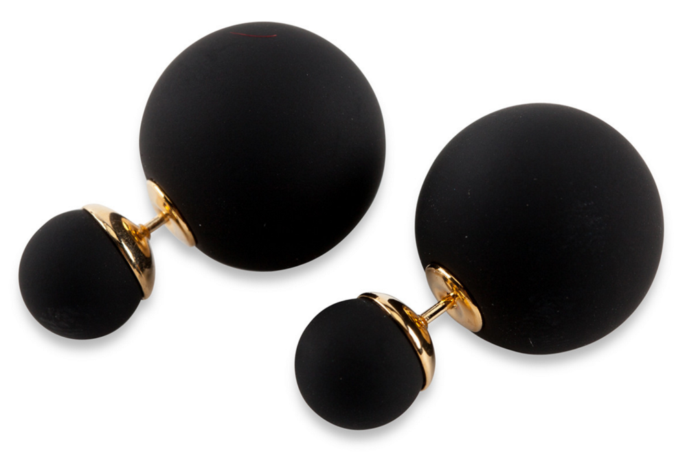 Malibu Earring Studs In Ebony ($48) - Furbish even has unique pieces of jewelry. I'm currently in love with their Malibu Earring Studs in Ebonyby Moon & Lola. These flirty little earrings are a bit different thanks to their matte finish. As someone who pretty much dresses like Wednesday Adams on a daily basis,I know these will pretty much go with anything in my wardrobe. #allblackeverything