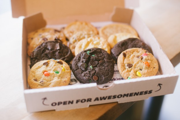 8. Insomnia Cookies: Sugar Rush - Um, they deliver hot cookies in a pizza box. #freshman15forever
