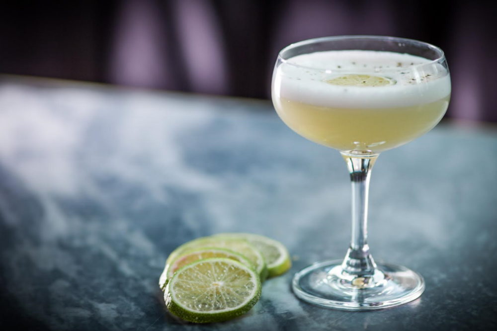 The Daisy Margarita - AVAILABLE AT THE DAISY NYCTromba Blanco TequilaSt. Germaine Black PepperEgg WhiteLime Marmalade