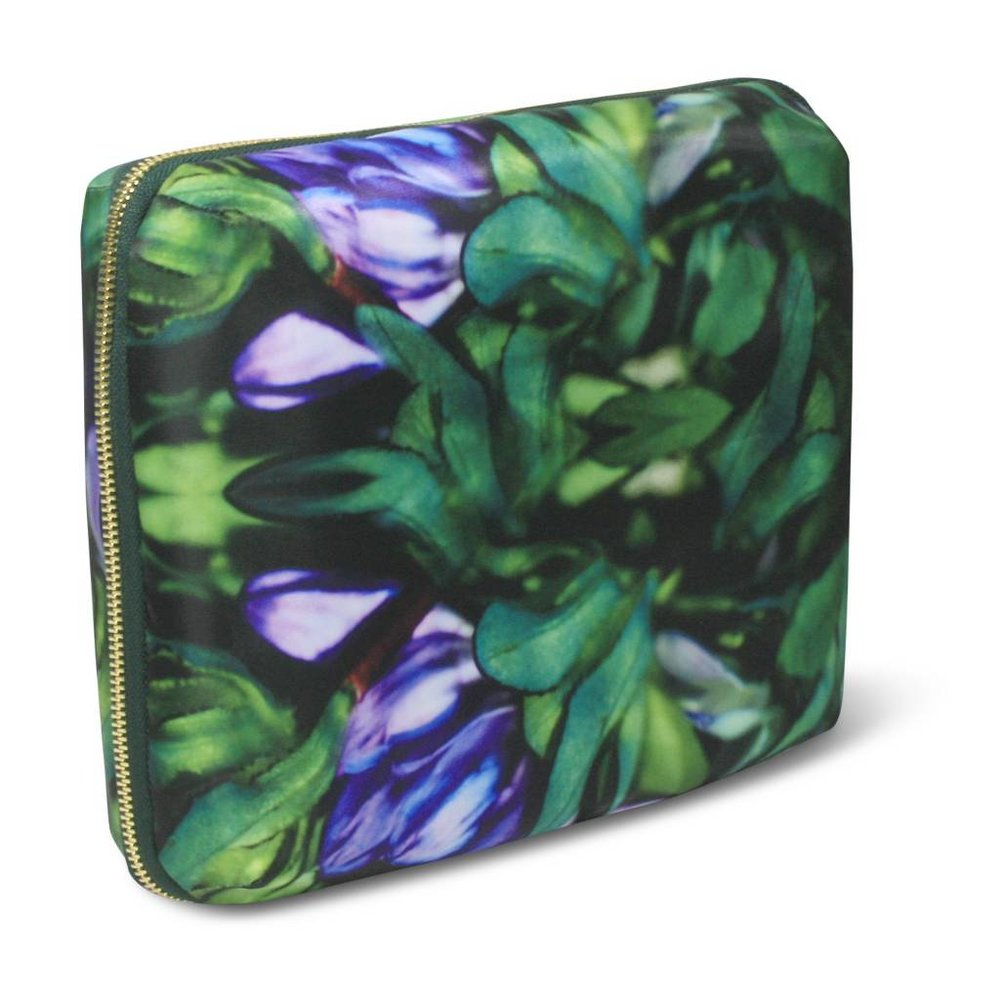 Sonia Kashuk Cosmetic Bag Beauty Organizer Purple Floral ($25.99)