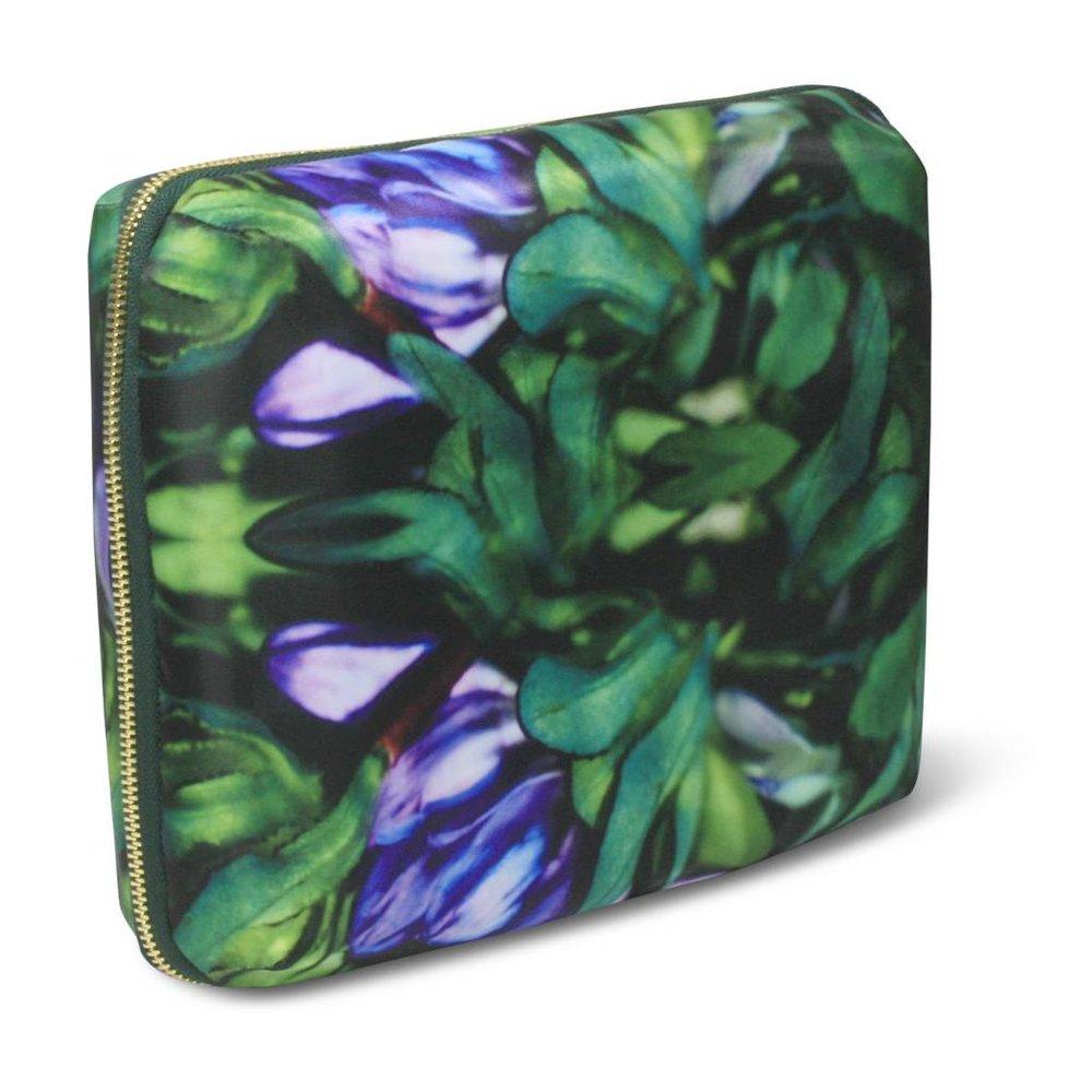 Sonia Kashuk Cosmetic Bag Beauty Organizer Purple Floral ($25.99)