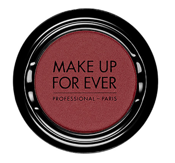 Make Up Forever Artist Shadow Eyeshadow in M844 Burgundy (Matte) - $21 - Warning: Pretty much everything Make Up Forever makes is highly pigmented (so a little goes a long way). This stark burgundy eyeshadow goes on matte and definitely makes lighter-colored eyes pop.