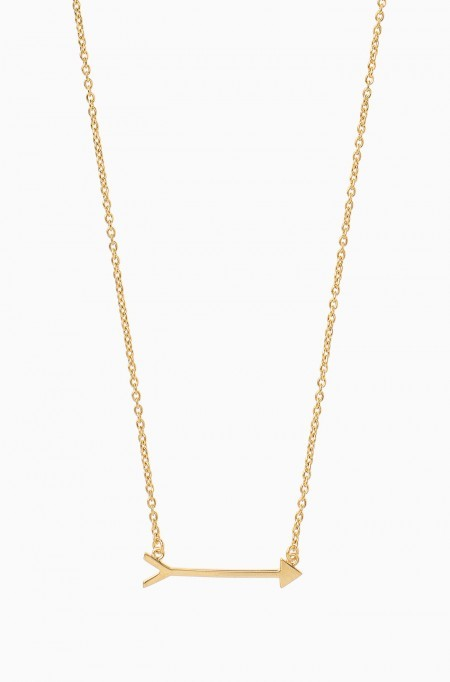 Stella & Dot Gold Vermeil Arrow Necklace ($59) - This is an oldie but goodie. I've had this necklace for years and always get complements on it. The simple