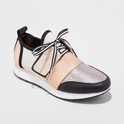 Mossimo Supply Co Women's Deena Sneakers Jogger ($29) - These pumped up kicks from Target are casual enough to throw on with a sweater yet they definitely make a statement. Your Target run just got more exciting. #targettakesallmymoney