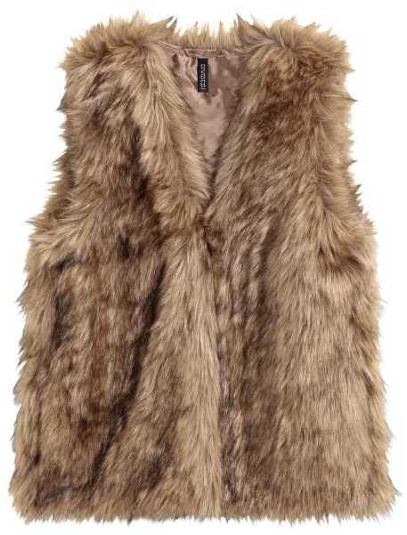 H&M Faux Fur Vest ($39.99) - Stay warm in this faux fur vest that's neutral enough to go with jeans, black leggings, or even a long dress. Warning: you might want to curl up with it when not in use. #petyourself