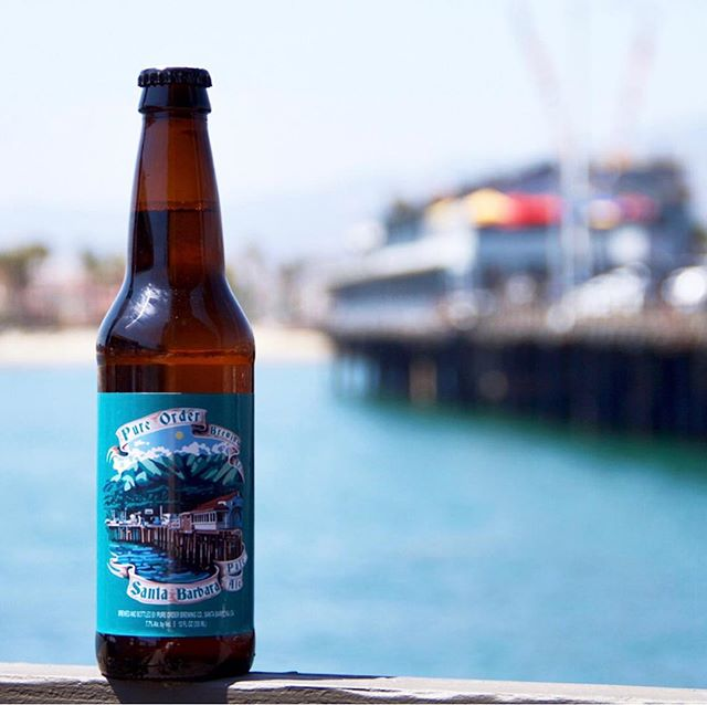 I don't know about you but Friday's + this heat make a cold beer sound reeeal nice 🙌🏼 . . PC: @pureorderbrewco  #friyay #santabarbara #lagoondistrict #beerme