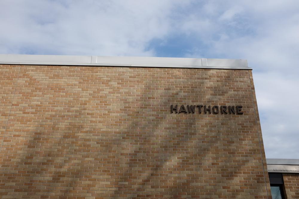 Hawthorne Elementary, near my home.
