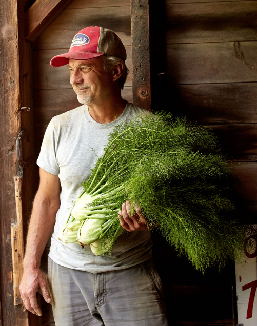 Walter Riesen  has been growing vegetables organically most of his life. In 2011 he started Star Route Farm thinking that scaling up was a good idea...