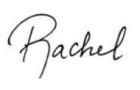 Rachel Nordgren Signature