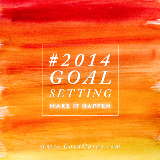 2014 Goal Setting with the Lara Casey PowersSheets | Rachel Nordgren