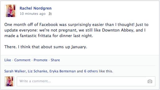 How to Quit Facebook | Rachel Nordgren