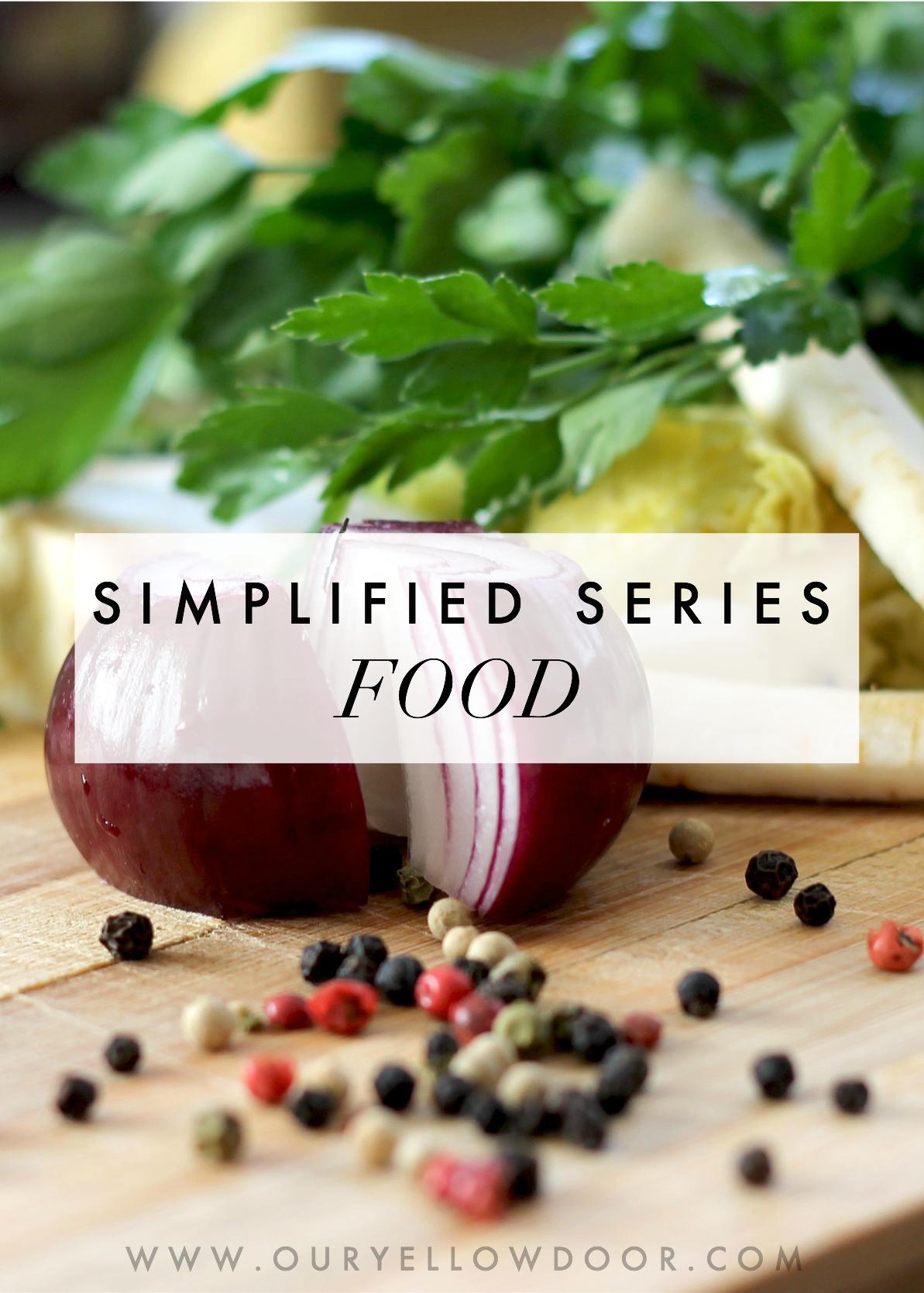 Simplified Series Food