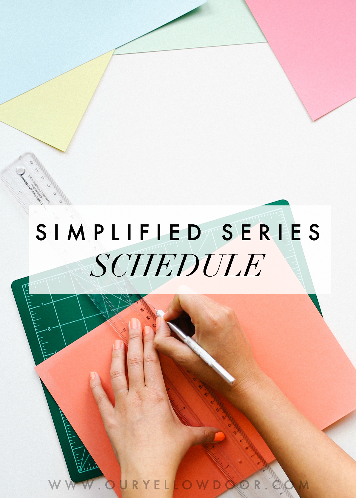 Simplified Series Schedule