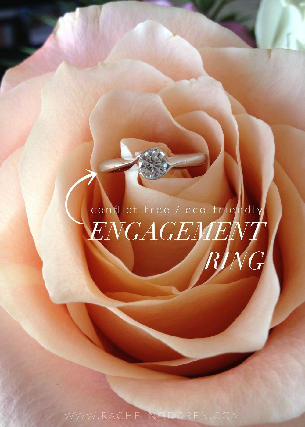 Brilliant Earth Engagement Ring | Rachel Nordgren