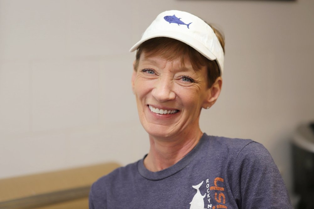Debby, Milton Fish Market Manager
