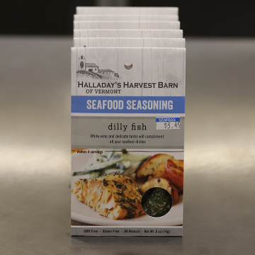 Halladay's Harvest Barn of Vermont Dilly Fish Seafood Seasoning